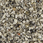 Silver-Quartz gravel for resin driveway