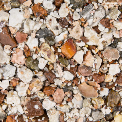 Tundra gravel for resin driveway