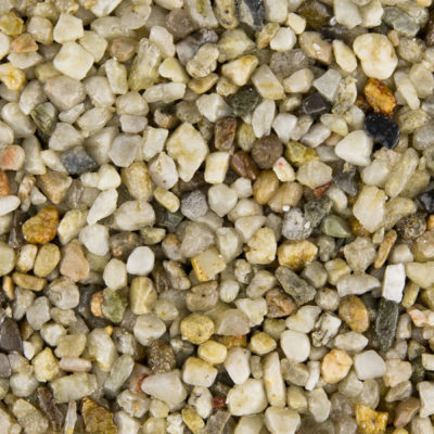 White Marble gravel for resin driveway
